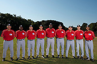 Baseball - MLB European Academy - Tirrenia (Italy) - 21/08/2009 - Coaching staff
