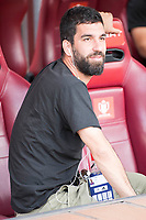 FC Barcelona's Arda Turan during Copa del Rey (King's Cup) Final between Deportivo Alaves and FC Barcelona at Vicente Calderon Stadium in Madrid, May 27, 2017. Spain.<br /> (ALTERPHOTOS/BorjaB.Hojas) /NortePhoto.com