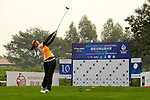 Sha Wu of China during the 2011 Faldo Series Asia Grand Final on the Faldo Course at Mission Hills Golf Club in Shenzhen, China. Photo by Victor Fraile / Faldo Series