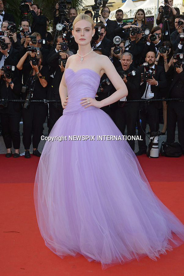 24.05.2017; Cannes, France: ELLE FANNING<br /> attends the screening of &ldquo;The Beguiled&rdquo; at the 70th Cannes Film Festival, Cannes<br /> Mandatory Credit Photo: &copy;NEWSPIX INTERNATIONAL<br /> <br /> IMMEDIATE CONFIRMATION OF USAGE REQUIRED:<br /> Newspix International, 31 Chinnery Hill, Bishop's Stortford, ENGLAND CM23 3PS<br /> Tel:+441279 324672  ; Fax: +441279656877<br /> Mobile:  07775681153<br /> e-mail: info@newspixinternational.co.uk<br /> Usage Implies Acceptance of Our Terms &amp; Conditions<br /> Please refer to usage terms. All Fees Payable To Newspix International