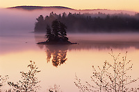 Island at dawn<br />