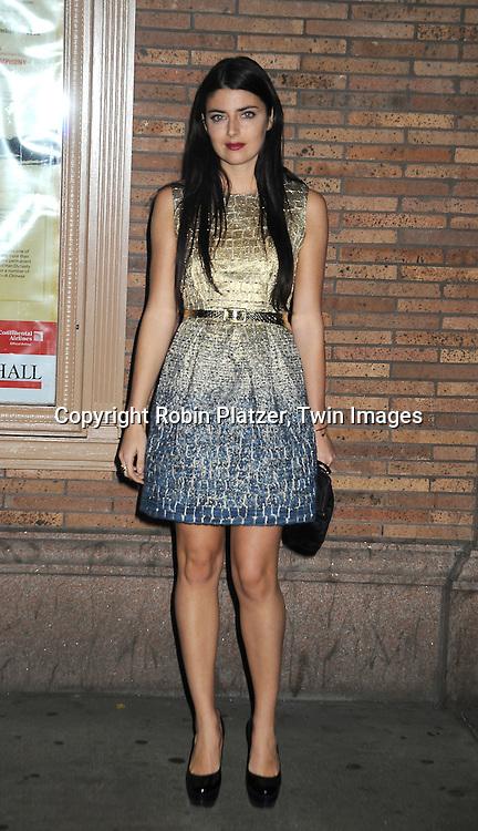 fashion designer Lucilla Beccaria