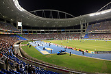 BRAZIL, Rio de Janiero, inside of Joao Havelange or Engenhao stadium, Flumanense vs Gremio