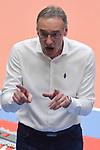 11.03.2018,  Lueneburg GER, VBL, SVG Lueneburg vs Hypo Tirol Alpenvolleys Haching, im Bild Trainer Stefan Chrtiansky (Haching) / Foto © nordphoto / Witke