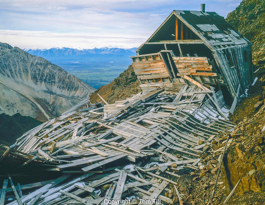 Bonanza Ghost Town, Wrangell-St.-Elias National Park and Preserve, Alaska Wrangell Mountains