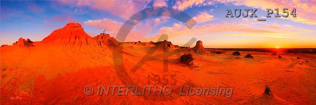Dr. Xiong, LANDSCAPES, panoramic, photos, Mungo, Australia(AUJXP154,#L#)