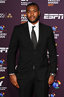 Wes Morgan at the BT Sport Industry Awards 2017 at Battersea Evolution, London, UK. <br /> 27 April  2017<br /> Picture: Steve Vas/Featureflash/SilverHub 0208 004 5359 sales@silverhubmedia.com