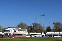 Blue skies over the ground ahead of  Essex CCC vs Lancashire CCC, Specsavers County Championship Division 1 Cricket at The Cloudfm County Ground on 9th April 2017