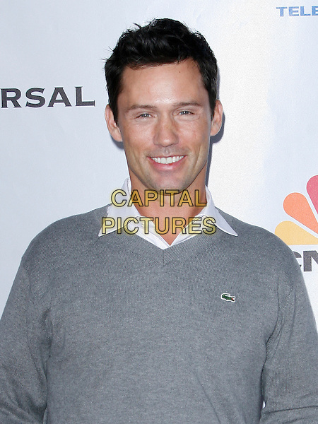 JEFFREY DONOVAN . arriving at the The Cable Show 2010 To Feature An Evening With NBC Universal held at  Universal Studios Hollywood in Universal City, California, USA, .May 12th, 2010..portrait headshot grey gray jumper sweater Lacoste .CAP/ROT/AMB.©Adriana M. Barraza /Roth Stock/Capital Pictures