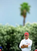 May 20, 2009; Tempe, AZ, USA; Arizona Cardinals head coach Ken Whisenhunt during organized team activities at the Cardinals practice facility. Mandatory Credit: Mark J. Rebilas-