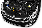Car Stock 2016 KIA Ceed Sense 5 Door Hatchback Engine  high angle detail view