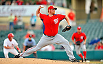 3 March 2011: Washington Nationals' pitcher Todd Coffey on the mound during a Spring Training game against the St. Louis Cardinals at Roger Dean Stadium in Jupiter, Florida. The Cardinals defeated the Nationals 7-5 in Grapefruit League action. Mandatory Credit: Ed Wolfstein Photo