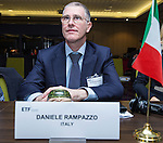 BRUSSELS - BELGIUM - 25 November 2016 -- European Training Foundation (ETF) Governing Board meeting. -- Daniele Rampazzo, Consigliere d&rsquo;Ambasciata, Vice Direttore per l&rsquo;integrazione europea Capo Ufficio I<br /> Direzione Generale per l&rsquo;Unione Europea. (Embassy Counsellor, Deputy Director for European Integration<br /> The Head of Office General Directorate for European Union). -- PHOTO: Juha ROININEN / EUP-IMAGES
