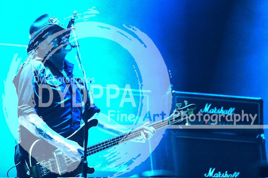 Ian 'Lemmy' Kilmister von Motoerhead live auf dem 22. Wacken Open Air Festival - W:O:A 2011. Wacken, 06.08.2011