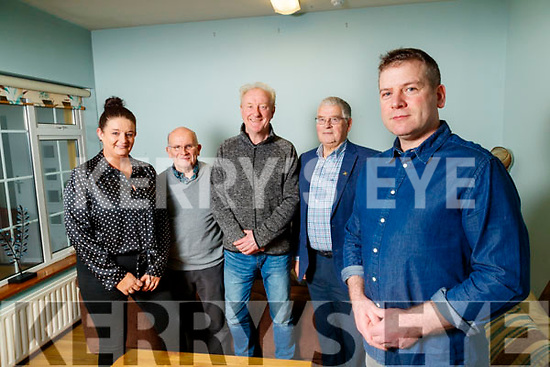 Dara Ó Cinnéide who is announced as new Ambassador for Recovery Haven, pictured on Wednesday morning last with l-r: Marisa Reidy (Recovery Haven PR & Marketing Manager), Tim McSwiney (Chairman Recovery Haven), Eddie Murphy (Board of Directors) and Dermot Crowley (Recovery Haven).