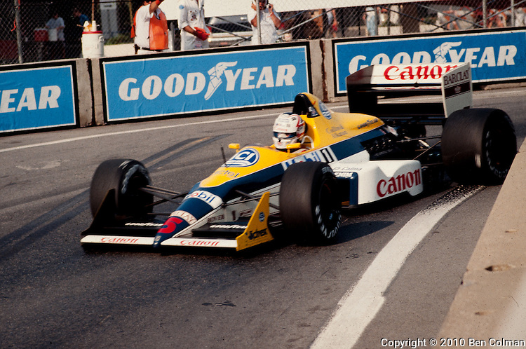 Nigel Mansell, Williams FW11B, Detroit 1987