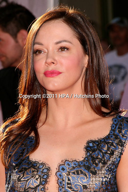"""LOS ANGELES - APR 27:  Rose McGowan arriving at the TCM Classic Film Festival Opening Night Gala And World Premiere Of """"An American In Paris"""" at Grauman's Chinese Theater on April 27, 2011 in Los Angeles, CA.."""