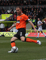 Sean Dillon in the St Mirren v Dundee United Clydesdale Bank Scottish Premier League match played at St Mirren Park, Paisley on 27.10.12.