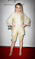 LOS ANGELES, CA - FEBRUARY 10: Sabrina Carpenter attends Universal Music Group's 2019 After Party at The ROW DTLA on February 9, 2019 in Los Angeles, California. Photo: CraSH/imageSPACE / MediaPunch