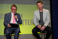 Pictured: Graham Potter Manager of Swansea City during the Swans Community Trust awards dinner at the liberty stadium in Swansea, Wales, UK <br /> Thursday 02 April 2019