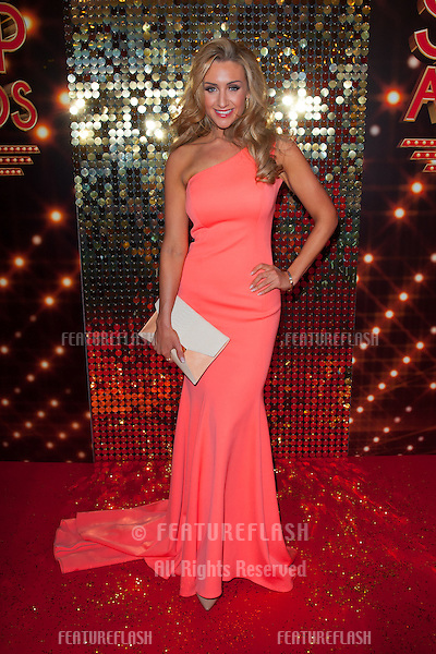 Catherine Tyldesley arriving for the 2014 British Soap Awards, at the Hackney Empire, London. 24/05/2014 Picture by: Dave Norton / Featureflash