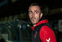 Fleetwood Town's Alex Cairns pictured before the match<br /> <br /> Photographer Andrew Kearns/CameraSport<br /> <br /> The EFL Sky Bet League One - Wycombe Wanderers v Fleetwood Town - Tuesday 11th February 2020 - Adams Park - Wycombe<br /> <br /> World Copyright © 2020 CameraSport. All rights reserved. 43 Linden Ave. Countesthorpe. Leicester. England. LE8 5PG - Tel: +44 (0) 116 277 4147 - admin@camerasport.com - www.camerasport.com