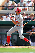 Florida Southern Colin Kish #2 during a exhibition game vs. the Detroit Tigers at Joker Marchant Stadium in Lakeland, Florida;  February 25, 2011.  Detroit defeated Florida Southern 17-5.  Photo By Mike Janes/Four Seam Images