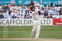 Simon Harmer hits 6 runs for Essex during Essex CCC vs Warwickshire CCC, Specsavers County Championship Division 1 Cricket at The Cloudfm County Ground on 15th July 2019