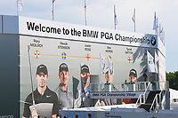 Back of Wentworth 18th green grandstand during the BMW PGA Golf Championship at Wentworth Golf Course, Wentworth Drive, Virginia Water, England on 27 May 2017. Photo by Steve McCarthy/PRiME Media Images.