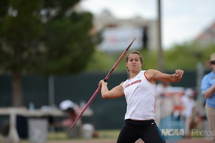 09 May 2013:  Mountain West Conference Track and Field Championship  at the University of Las Vegas-Nevada in Las Vegas NV.  Chris Steppig/NCAA Photos