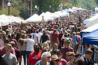 Cotton District Arts Festival - Super Bulldog Weekend.<br />  (photo by Megan Bean / &copy; Mississippi State University)