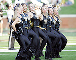 2 September 2006: Wake Forest dance team performs, pregame. Wake Forest defeated Syracuse 20-10 at Groves Stadium in Winston-Salem, North Carolina in an NCAA college football game.