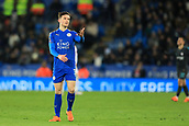 18th March 2018, King Power Stadium, Leicester, England; FA Cup football, quarter final, Leicester City versus Chelsea; A dejected Ben Chilwell of Leicester City as the ball goes out of play and time runs down