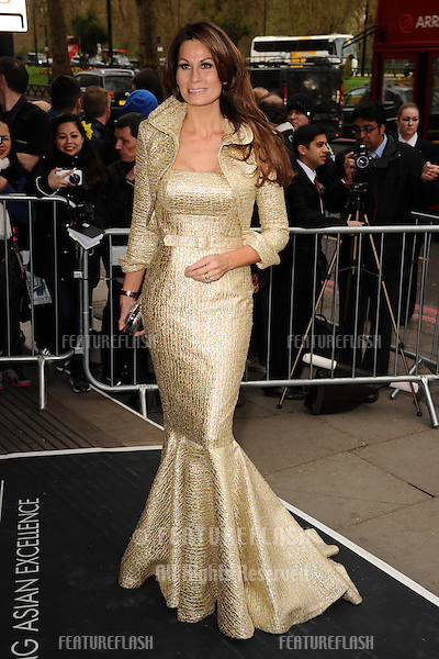 Isabelle Kristensen arrives for The Asian Awards 2014 at the Grosvenor House Hotel, London. 04/04/2014 Picture by: Steve Vas / Featureflash