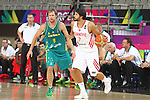07.09.2014. Barcelona, Spain. 2014 FIBA Basketball World Cup, round of 16. Picture show C. Akyol in action during game between Turkey   v Australia at Palau St. Jordi