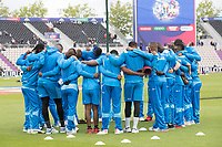 West Indies get together prior to the England vs West Indies, ICC World Cup Cricket at the Hampshire Bowl on 14th June 2019