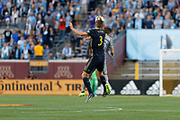 Minneapolis, MN - Saturday, September 9, 2017: Minnesota United FC played Philadelphia Union in a Major League Soccer (MLS) game at TCF Bank stadium. Final score Minnesota United 1, Philadelphia Union 1