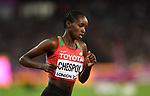 Celliphine Chepteek CHESPOL (KEN) in the womens 3000m steeplechase final. IAAF world athletics championships. London Olympic stadium. Queen Elizabeth Olympic park. Stratford. London. UK. 11/08/2017. ~ MANDATORY CREDIT Garry Bowden/SIPPA - NO UNAUTHORISED USE - +44 7837 394578
