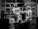 AVRIL 2017, Robby Collins Et Corinne Reymond Collinsde la brasserie 7peaks à Morgins  © sedrik nemeth