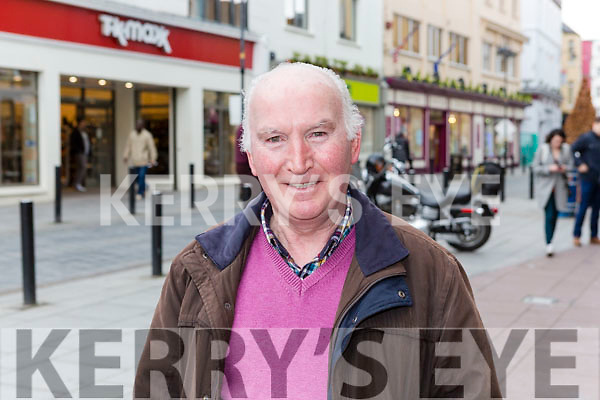 Why Do Love shopping in Killarney? William Kelly Currow 'It has plenty of parking and  it is very easy access the town centre'