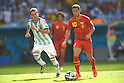 Lucas Biglia (ARG), Eden Hazard (BEL), JULY 5, 2014 - Football / Soccer : FIFA World Cup Brazil 2014 Quarter-finals match between Argentina 1-0 Belgium at Estadio Nacional in Brasilia, Brazil. (Photo by FAR EAST PRESS/AFLO)