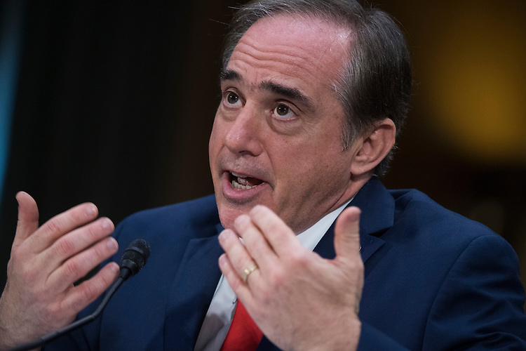 UNITED STATES - FEBRUARY 01: David Shulkin, nominee for Veterans Affairs secretary, testifies during his Senate Veterans' Affairs Committee confirmation hearing in Dirksen Building, February 1, 2017. (Photo By Tom Williams/CQ Roll Call)