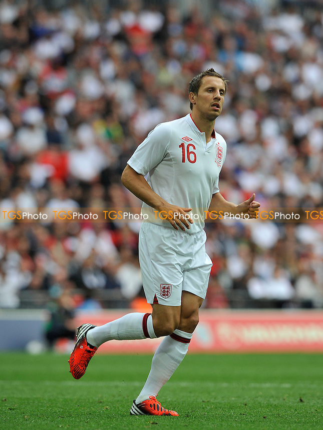 Phil Jagielka of England - England vs Belgium - International Football Friendly Match at Wembley Stadium, London -02/06/2012 - MANDATORY CREDIT: Martin Dalton/TGSPHOTO - Self billing applies where appropriate - 0845 094 6026 - contact@tgsphoto.co.uk - NO UNPAID USE.