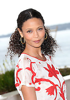 "Thandie Newton at the Photocall for her new television series "" Rogue' "" at the 50th Cannes Mip TV"
