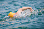 Competitors in action during the Clean Half Extreme Marathon Swim on 12 October 2013 at the Stanley Main Beach in Hong Kong, China. Photo by Mike Pickles / The Power of Sport Images