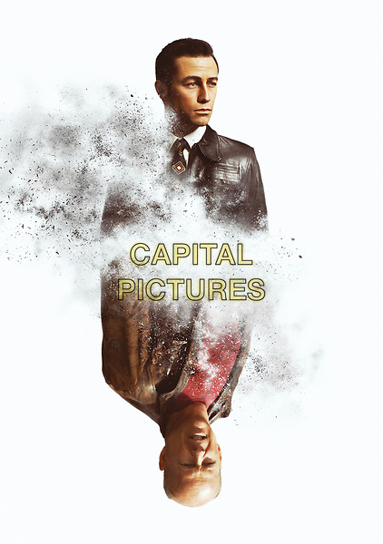 Looper (2012)<br /> Promotional art with Joseph Gordon-Levitt &amp; Bruce Willis<br /> *Filmstill - Editorial Use Only*<br /> CAP/KFS<br /> Image supplied by Capital Pictures