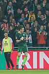 12.03.2018, Weser Stadion, Bremen, GER, 1.FBL, Werder Bremen vs 1.FC Koeln, im Bild<br /> <br /> jubel Milos Veljkovic (Werder Bremen #13) zum 1 zu 0<br /> <br /> Foto &copy; nordphoto / Kokenge