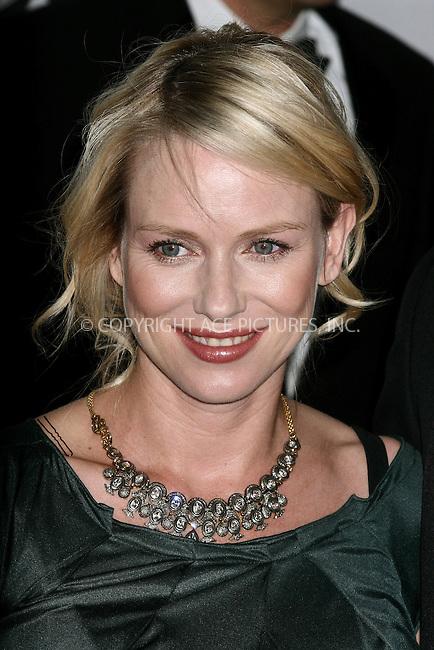 WWW.ACEPIXS.COM . . . . .  ....June 10, 2007. New York City.....Actress Naomi Watts arrives at the 61st Annual Tony Awards held at Radio City Music Hall.......Please byline: JOHN WARD - ACEPIXS.COM.... *** ***..Ace Pictures, Inc:  ..Philip Vaughan  (646) 769 0430..e-mail: info@acepixs.com..web: http://www.acepixs.com