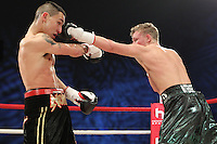 Lee Noble vs Phil Fury in a boxing contest at the Hillsborough Leisure Centre, Sheffield, promoted by Hennessy Sports - 12/05/12