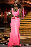 Viola Davis presents the Oscar&reg; for performance by an actor in a supporting role during the live ABC Telecast of The 90th Oscars&reg; at the Dolby&reg; Theatre in Hollywood, CA on Sunday, March 4, 2018.<br /> *Editorial Use Only*<br /> CAP/PLF/AMPAS<br /> Supplied by Capital Pictures